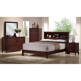 @Overstock   The Stunningly Beautiful Mahogany Veneer Finish On This  5 Piece Modern Bedroom. Modern Bedroom SetsKing ...