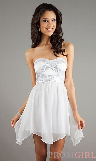 The perfect graduation dress to bad i cant wear white with my skin ...