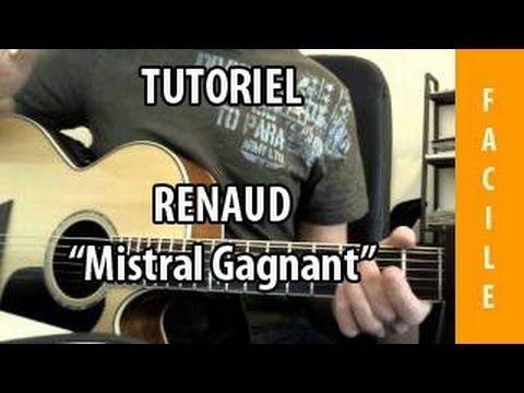 Mistral Gagnant - Renaud - Tab + Tuto Guitare ( Facile ...