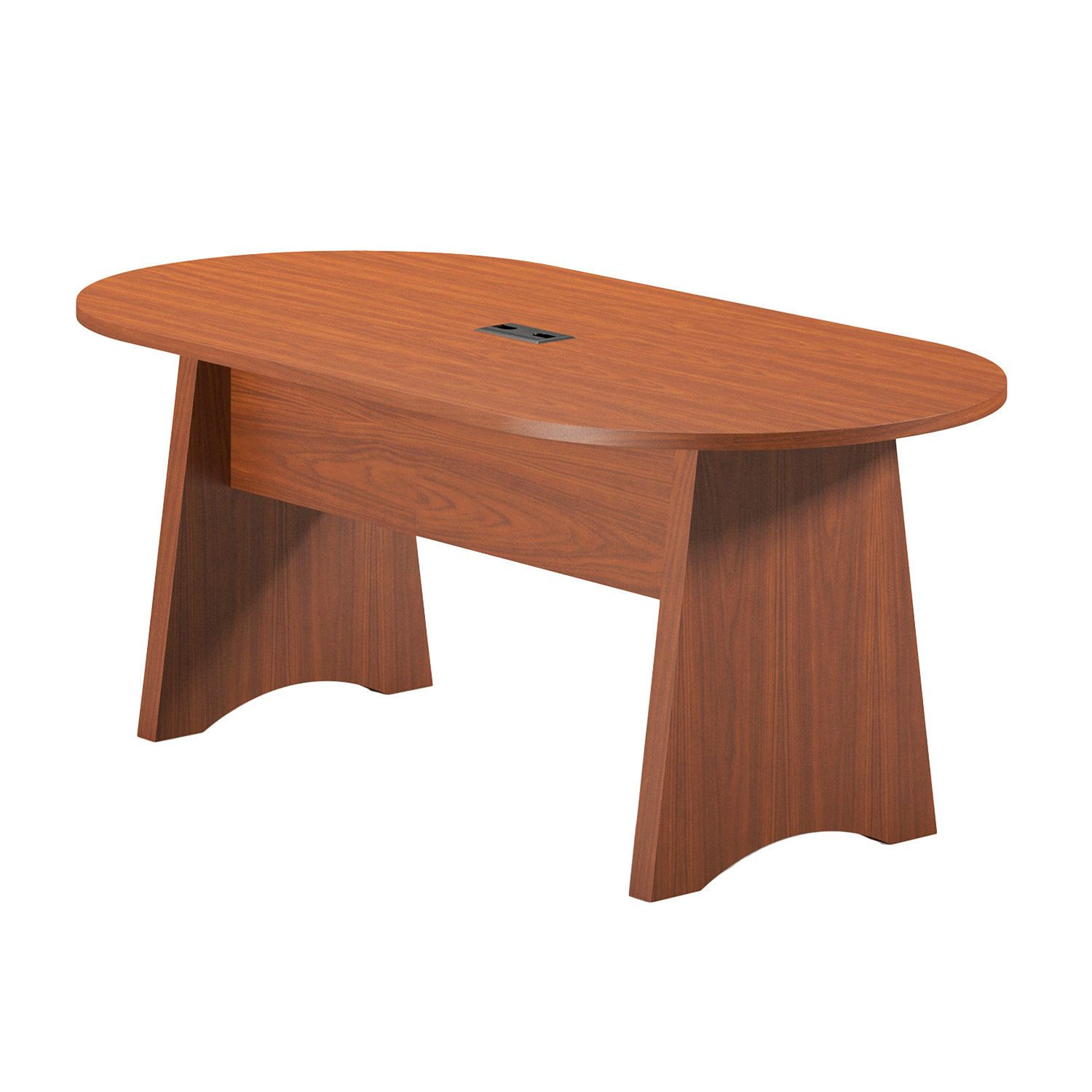 Mayline Brighton Foot Laminate Conference Table Products Tables - 6 foot office table