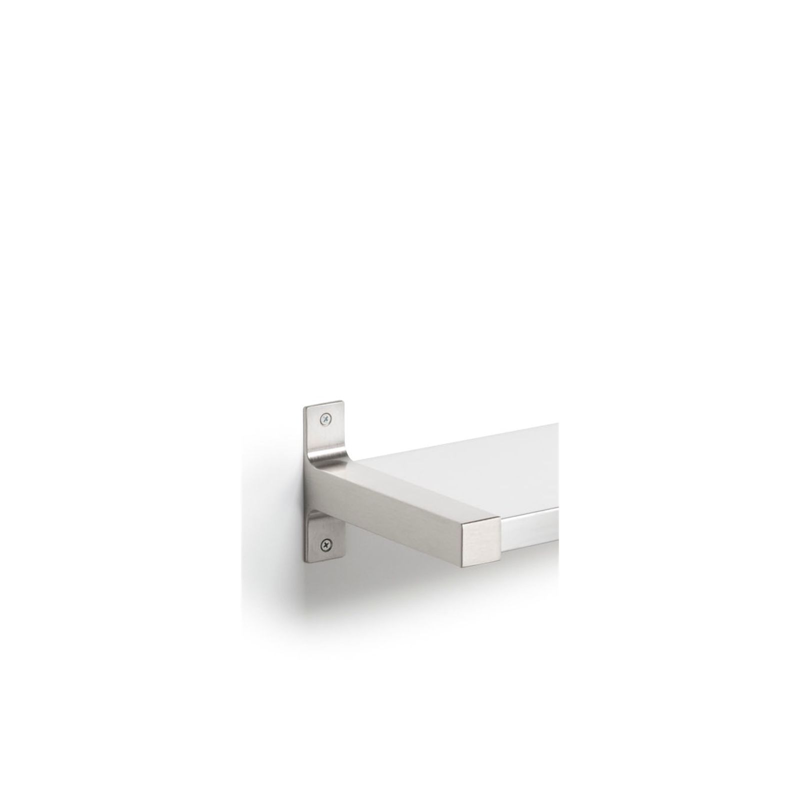 Handy Shelf End Bracket 190mm Left & Right Aluminium