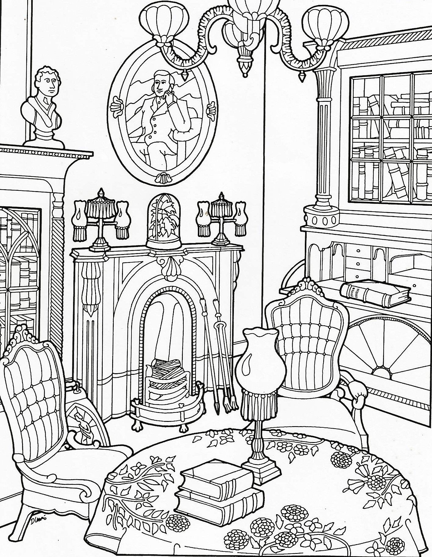 Coloring book pages coloring pages for kids house colouring pages printable coloring pages