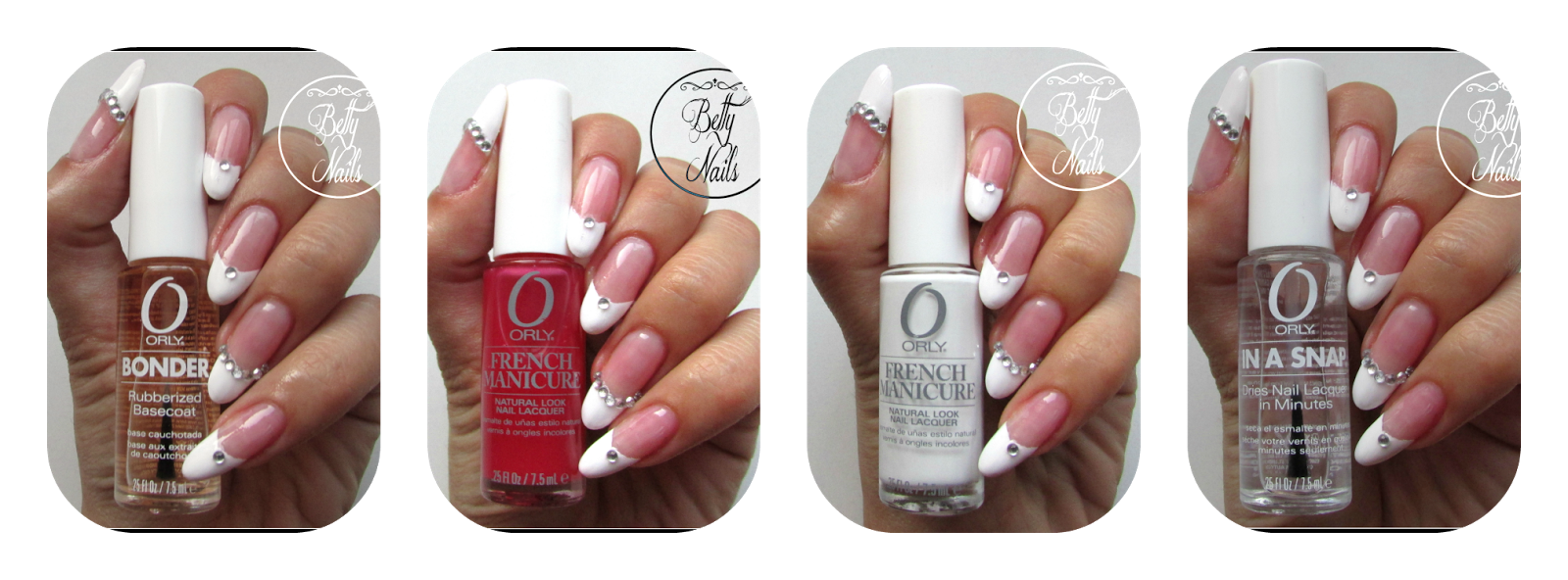Betty Nails: ORLY | French Manicure Kit [Review] | Orly | Pinterest ...