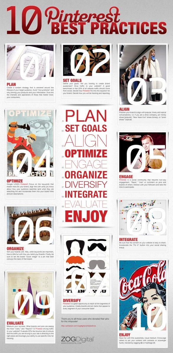 #Infographic: 10 Pinterest Best Practices