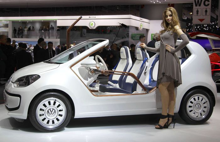 Vw Up Open Air Version Vw Up Detroit News Small Cars