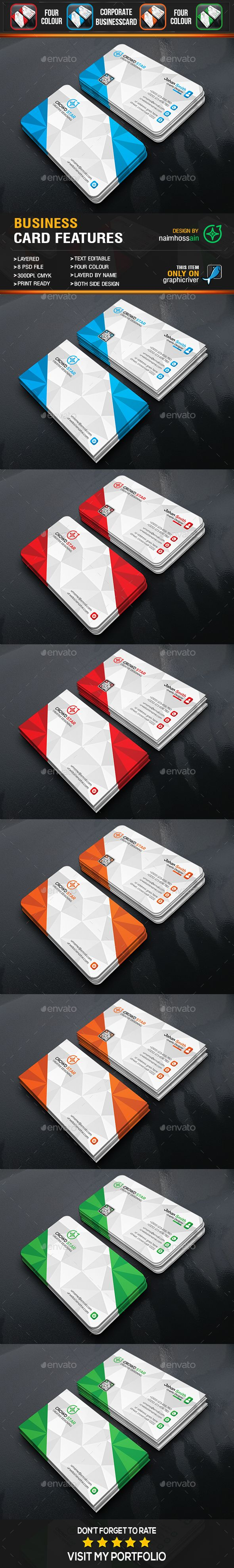 Corporate 3d business card pinterest 3d business card business corporate 3d business card business cards print templates cheaphphosting Image collections