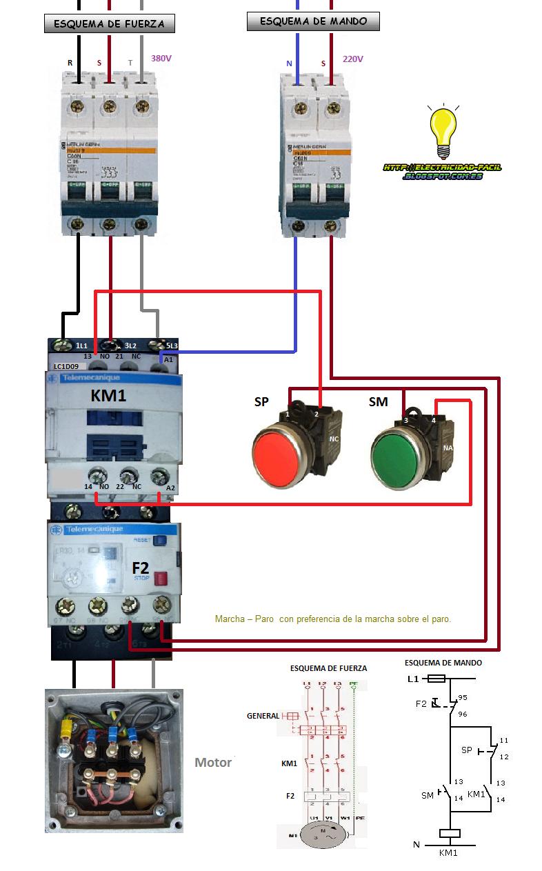 diagrama unifilar motor trifasico arrancador: coparoman ... lighting contactor wiring diagram