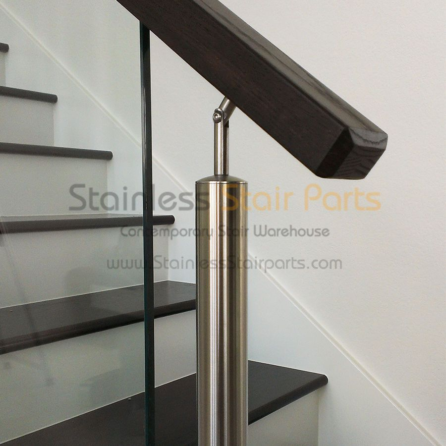 Stainless Steel Stair Parts Modern Glass   Rods U0026 Cable Railing Systems