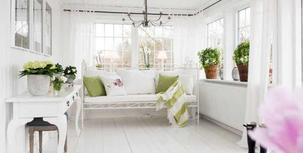 Classic White Interior Cottages That Romantic And Charming