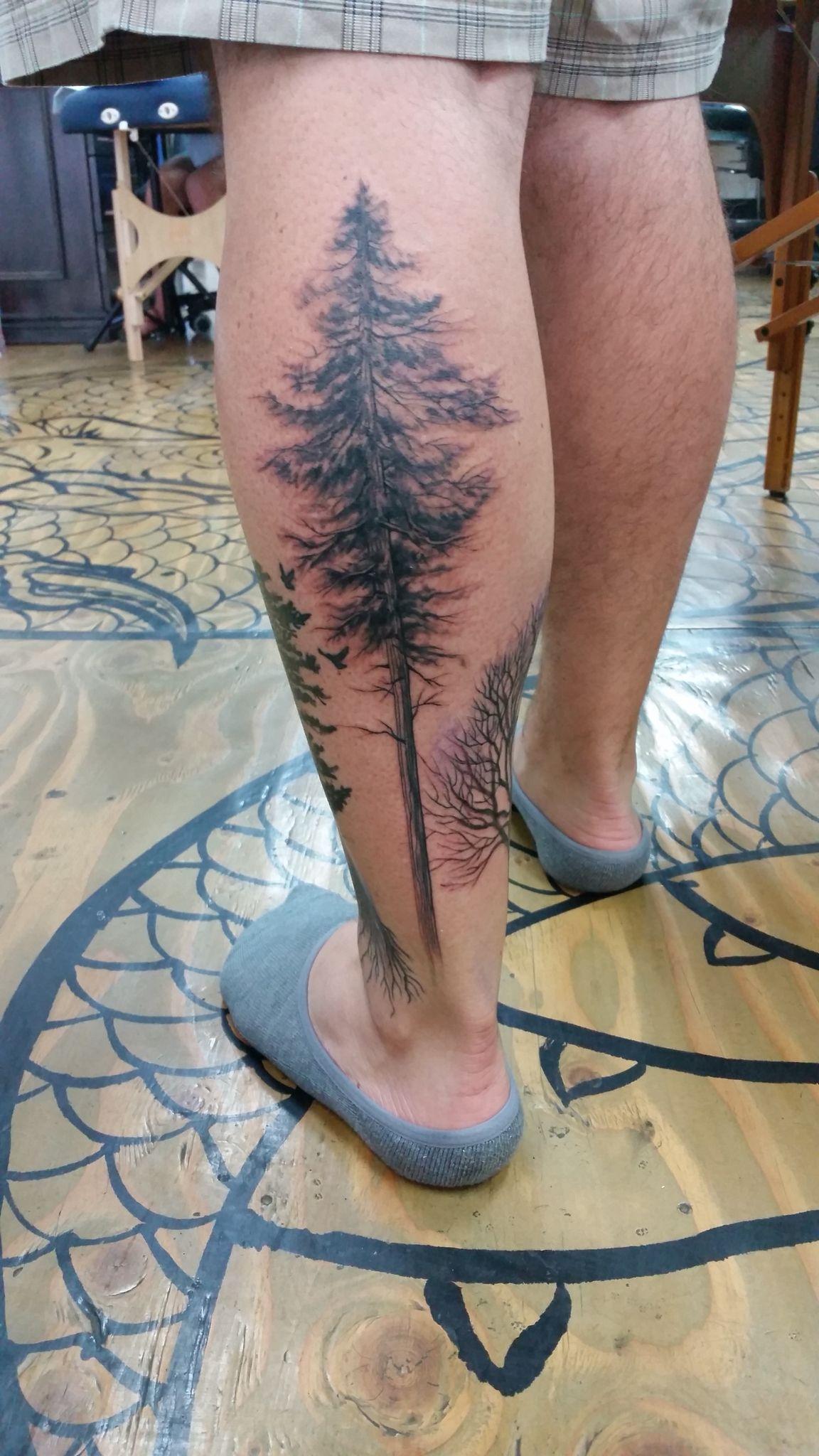 White Pine tattoo