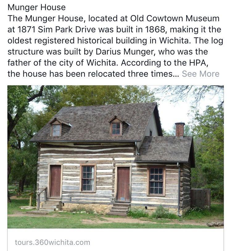 Munger House Wichita Ks Kansas Usa Wichita Historic Buildings