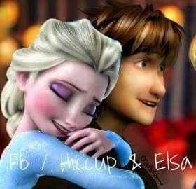 Hiccup & Elsa (Hiccelsa)