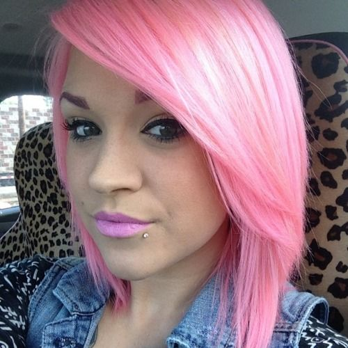 Used Ion Color Brilliance Rose Pravana Pastel Pink Because The Is Too Thick And Added A Little Magenta To