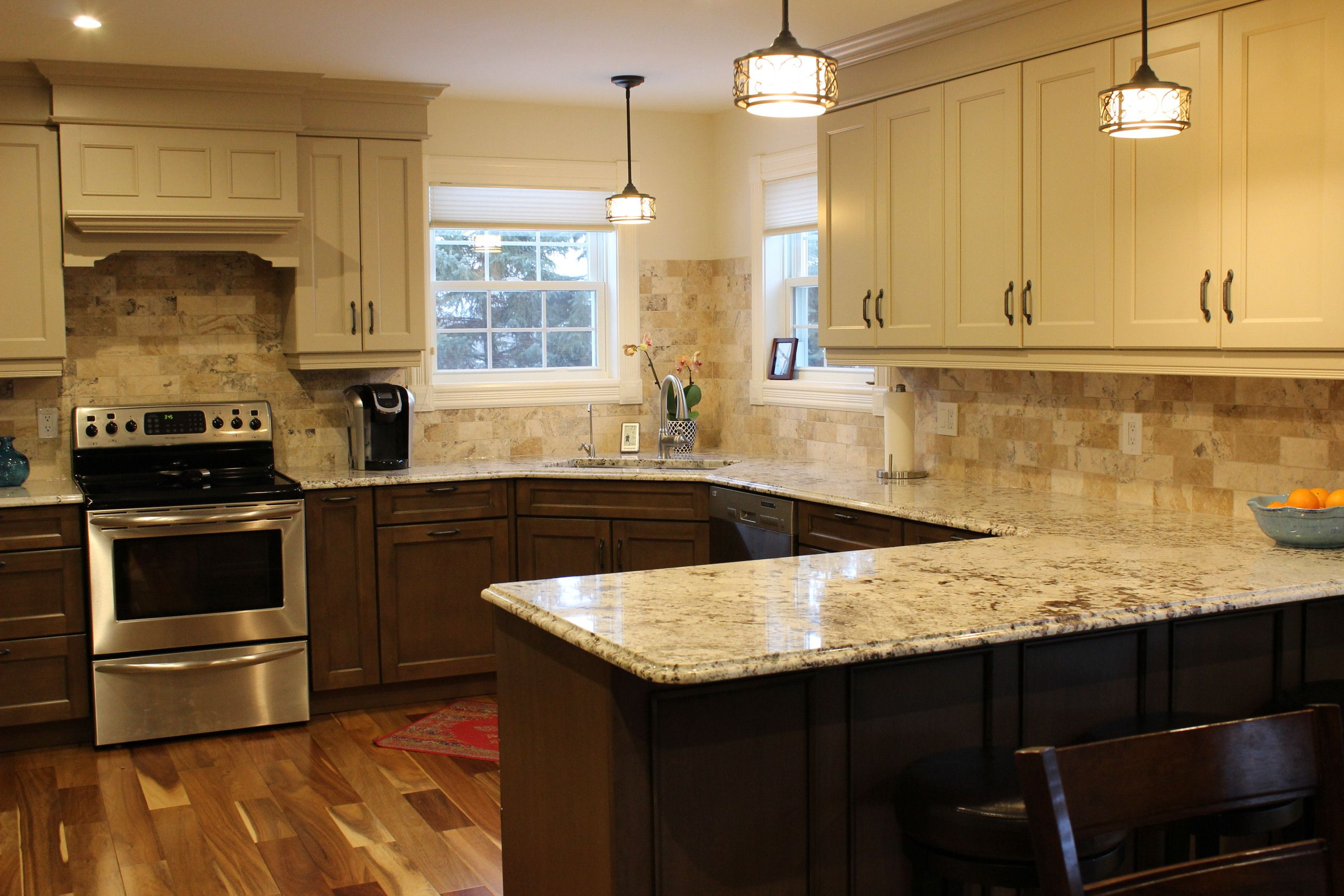 if natural lighting is your thing this november 2015 kitchen renovation boasts a ton of it on kitchen island ideas kids id=30980