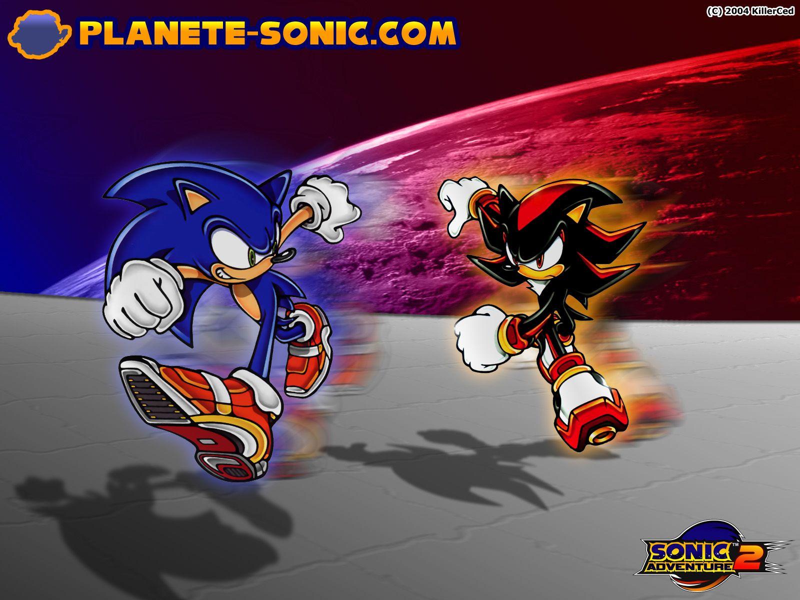 Super Shadow Sonic Adventure 2