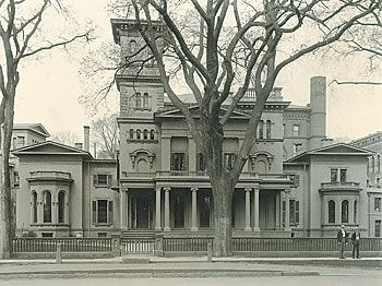 Sheffield House On Hillhouse Avenue Designed By Ithiel Town Torn Down In 1957 New Haven