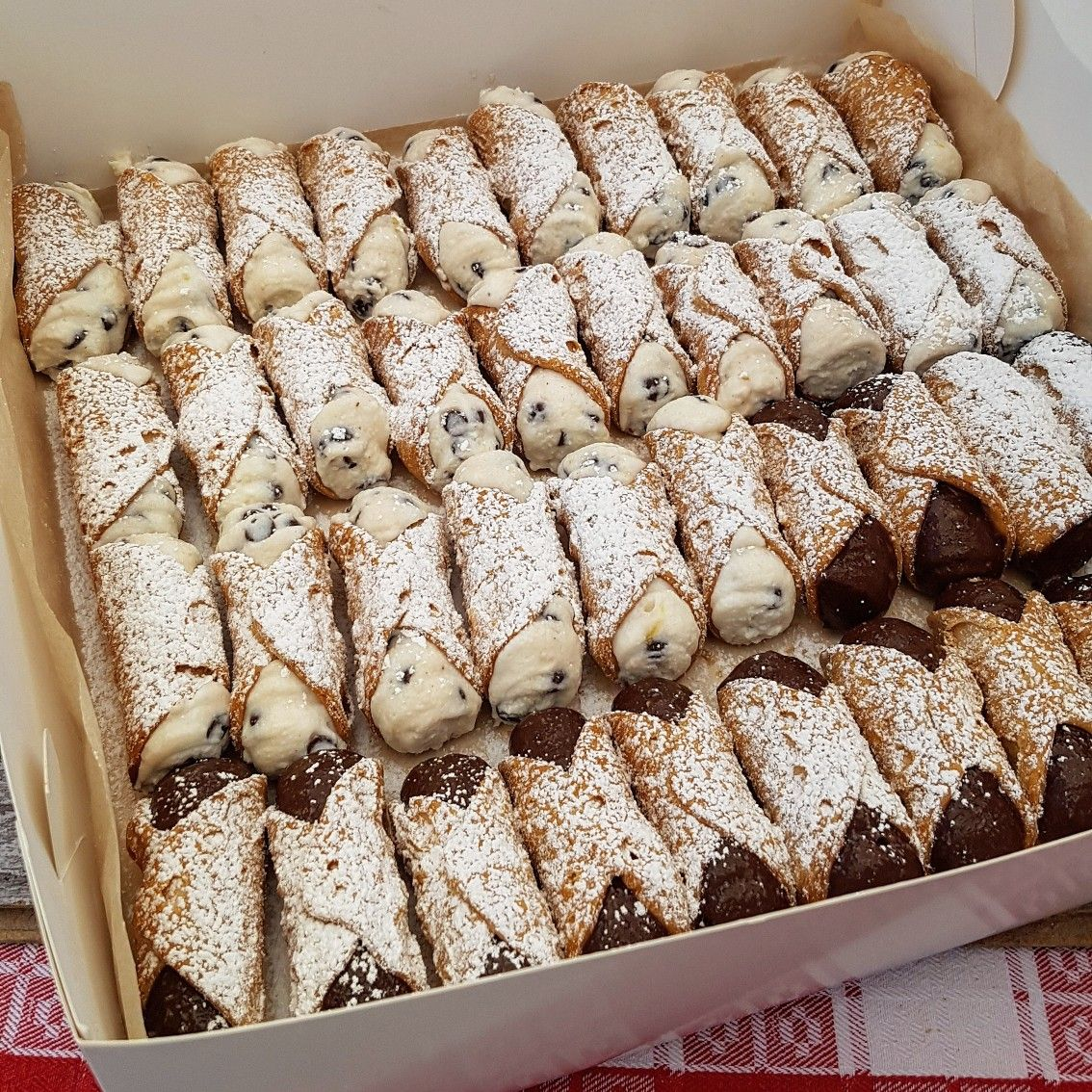 Its not christmas without cannoli just finished the last cannoli its not christmas without cannoli just finished the last cannoli delivery of this year sydney delivery thank you to every foodie friend who ordered forumfinder Images