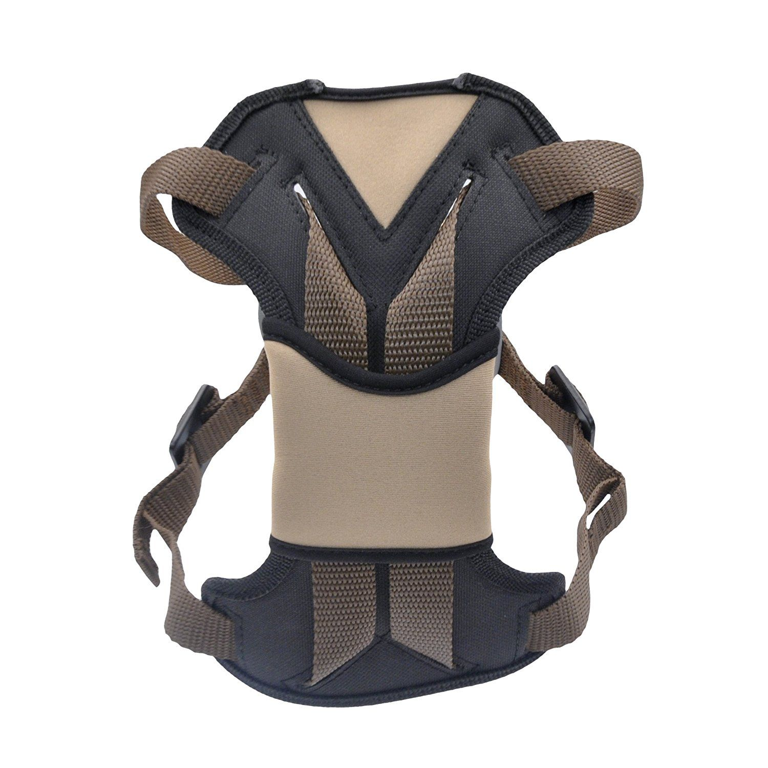 Bergan Safety Auto Harness with Tether, XLarge, Brown
