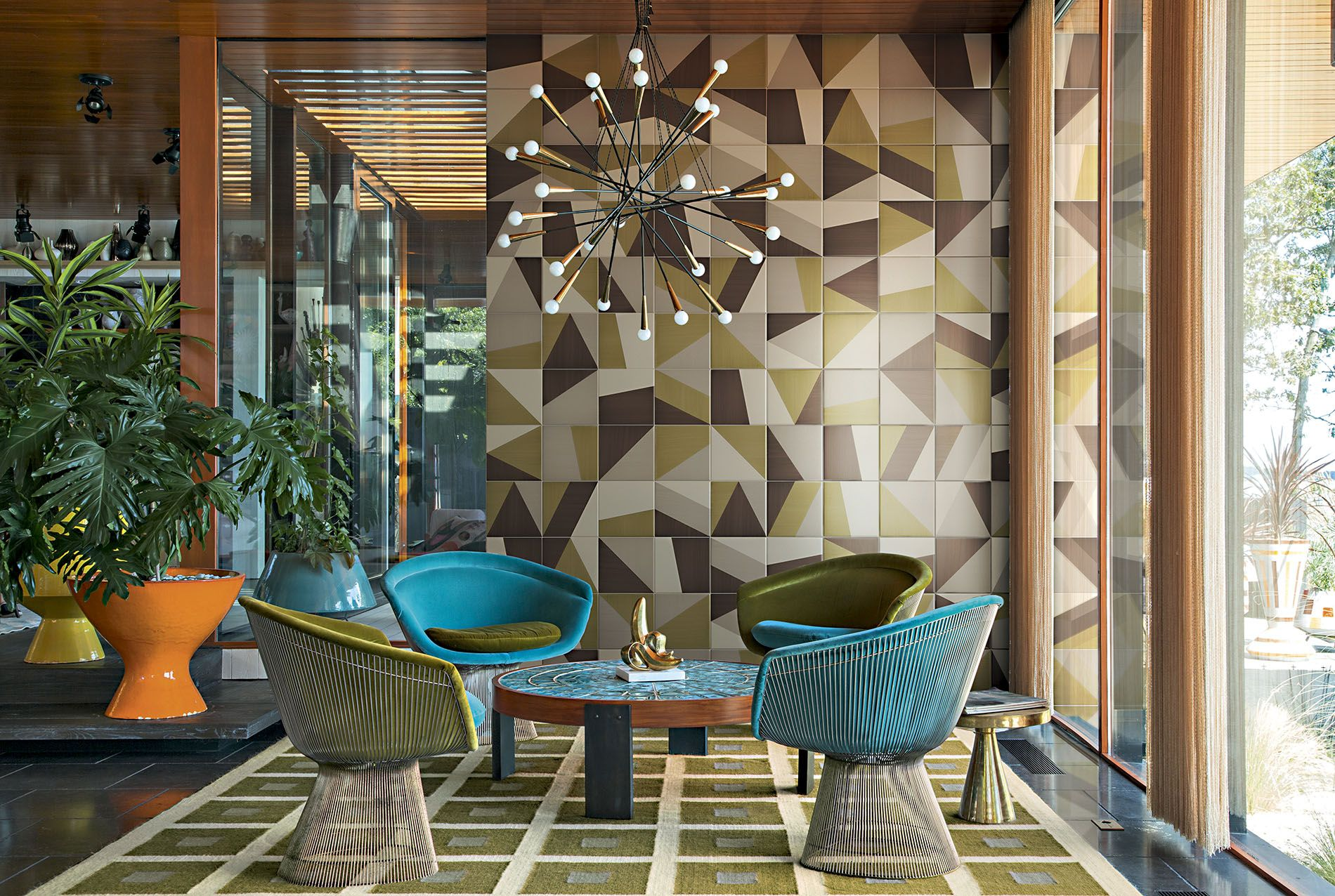 Tangram Tile Floor Wall Deco Wall Tiles