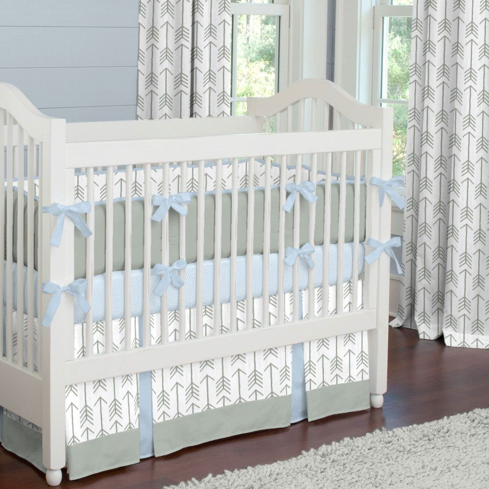 Gray Crib Bedding Sets With Images Crib Bedding Boy Grey Baby