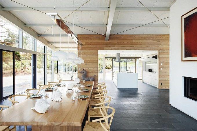 Modernes Landhaus von Architektin Tania Urvois Cottage style and - landhaus modern