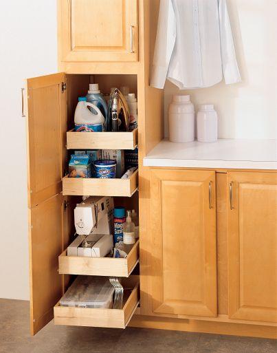 Utility Cabinet Organization