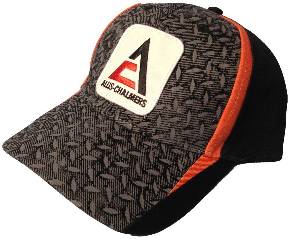 New Logo Orange and Black Allis Chalmers Hat