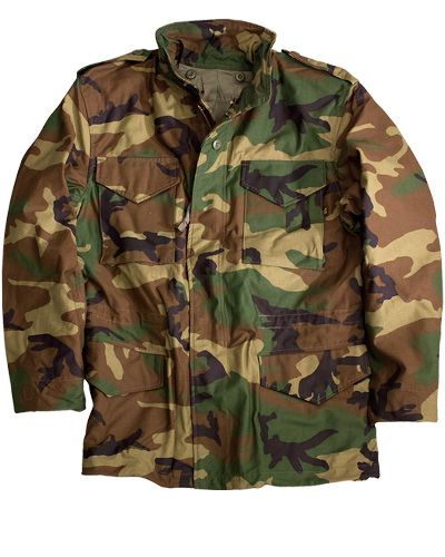 cb453866273d9 The US Military M65 jacket, Woodland Camo by Alpha Jackets | Gear in ...