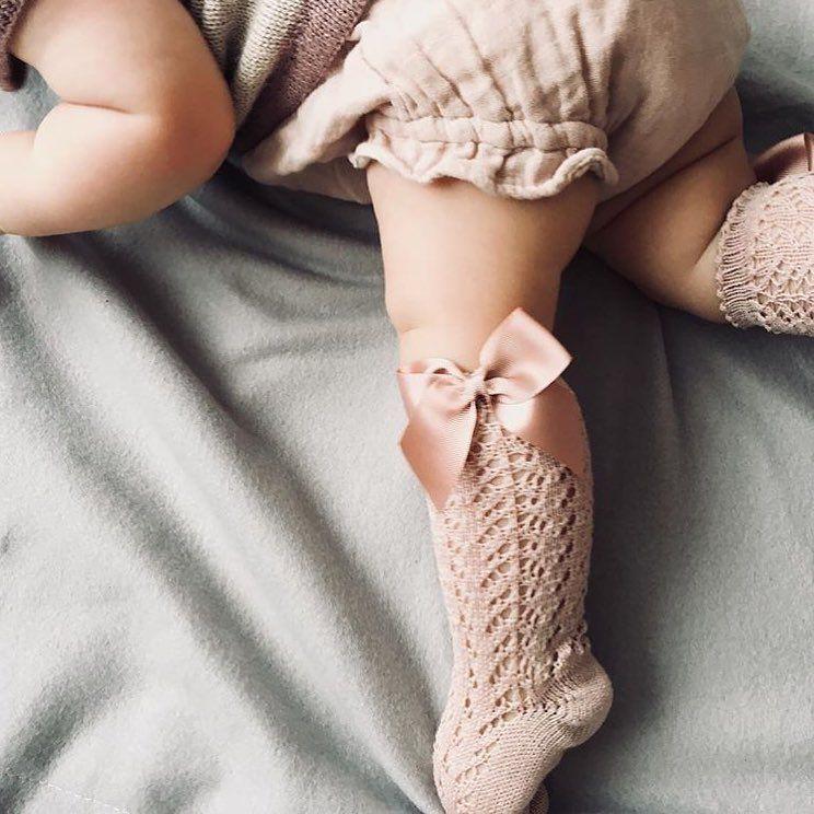 "Photo of jamie kay on Instagram: ""Rose smoke muslin bloomers for your little loves ♡ online now. Pic @knitting_ellie #jamiekayaw18"""