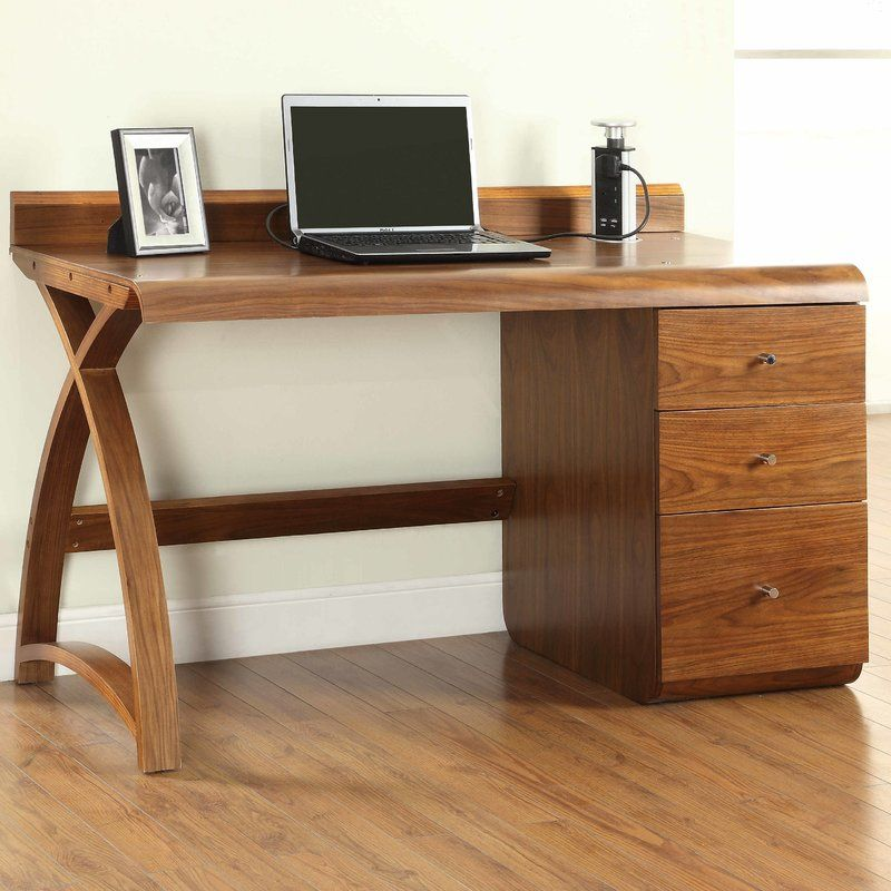 Gatsby Computer Desk Pedestal Desk Curved Desk Home Office
