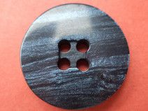 9 dunkelblaue Knöpfe 21mm (6519-7)Knopf dunkelblau
