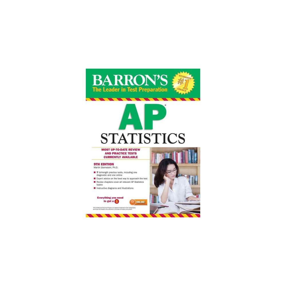 Barron S Ap Statistics Paperback Ph D Martin Sternstein Ap