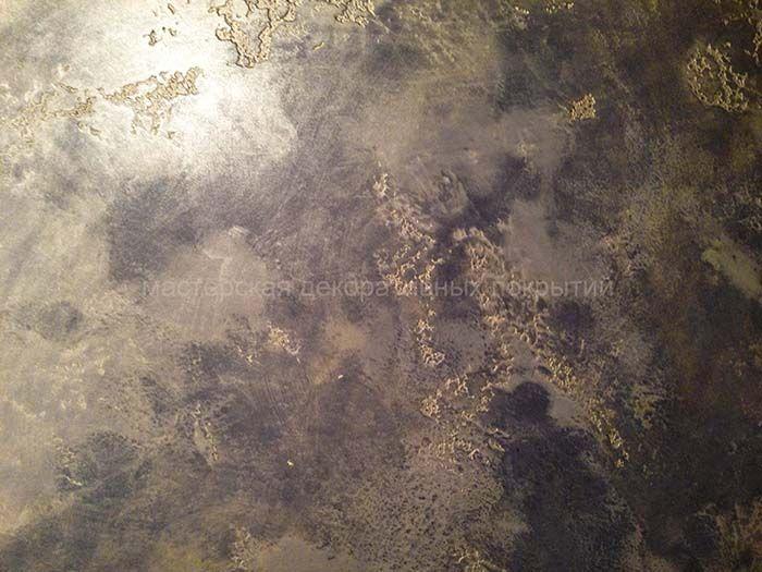 Декоративная штукатурка в СПб - фото, образцы, венецианская роспись, трафареты, орнаменты, золочение
