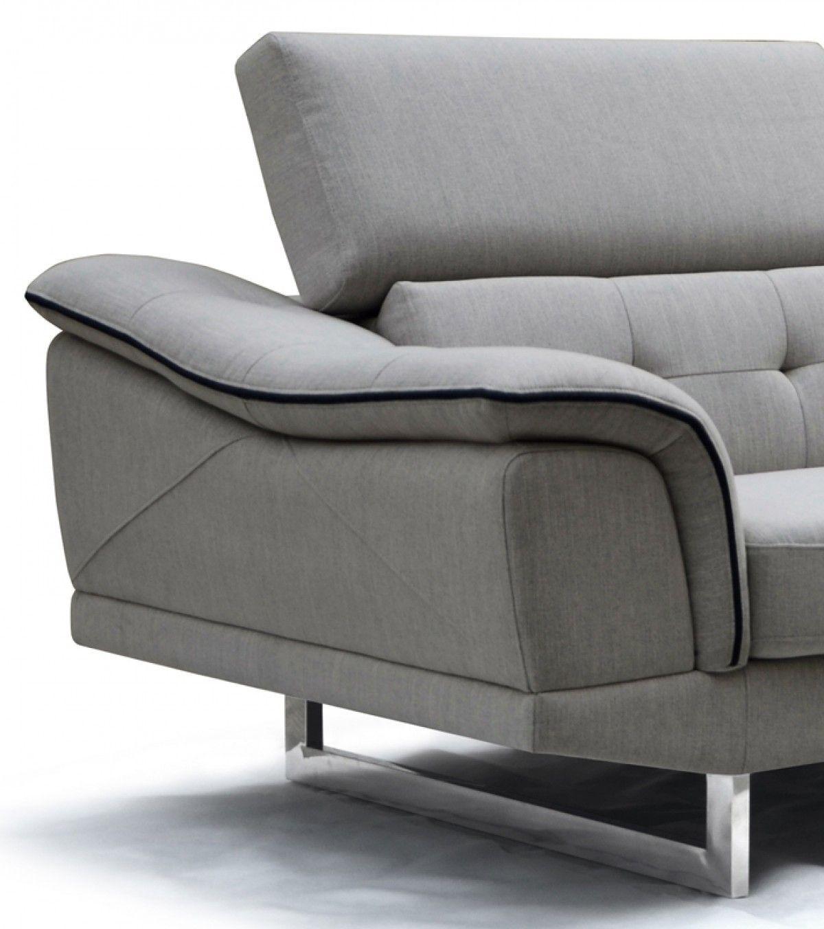 Divani Casa Gaviota Reversible Chaise Sectional Mobilya Kanepeler Ic Tasarim
