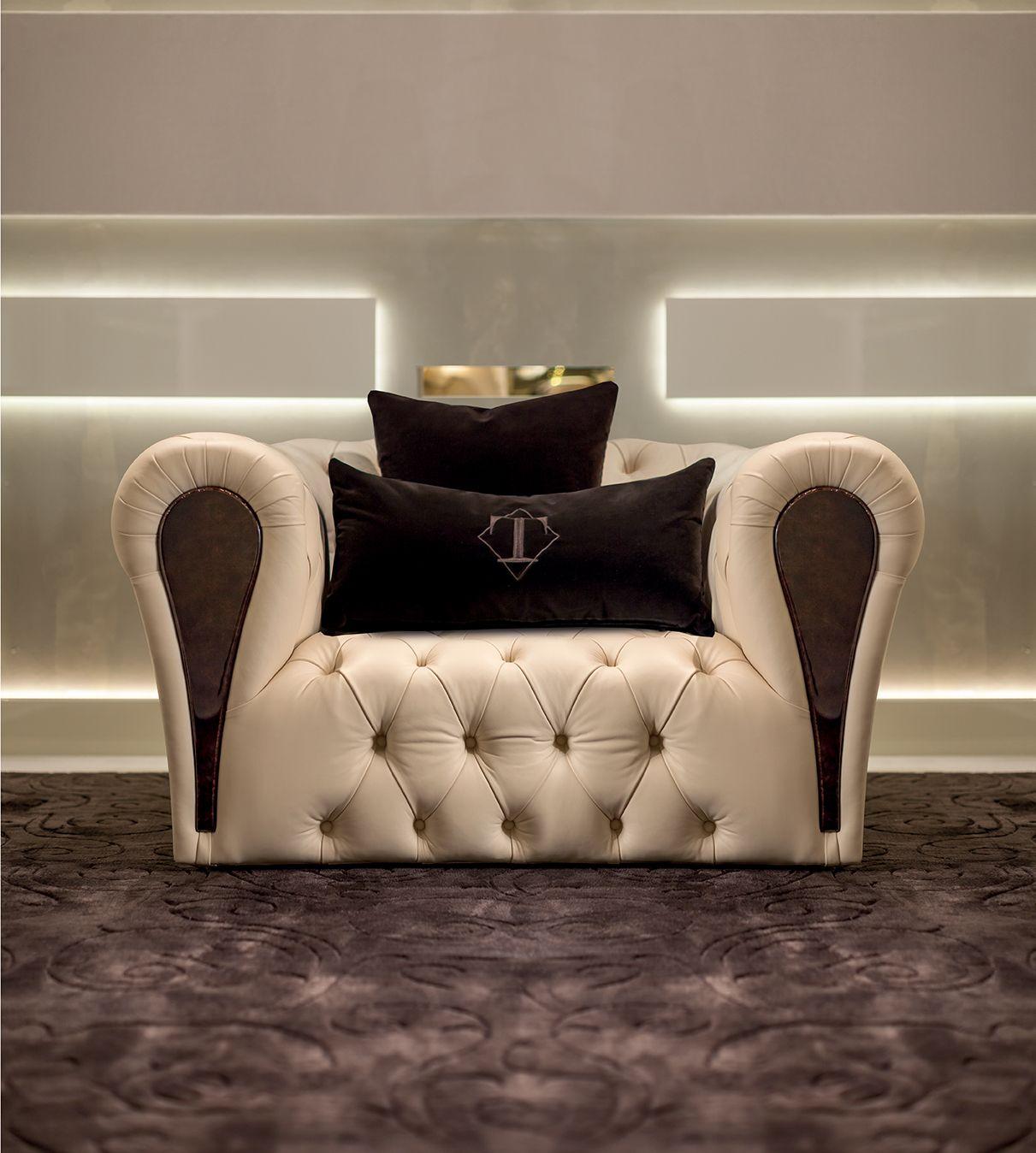 Mayfair Collection Www Turri It Luxury Italian Capitonne Armchair