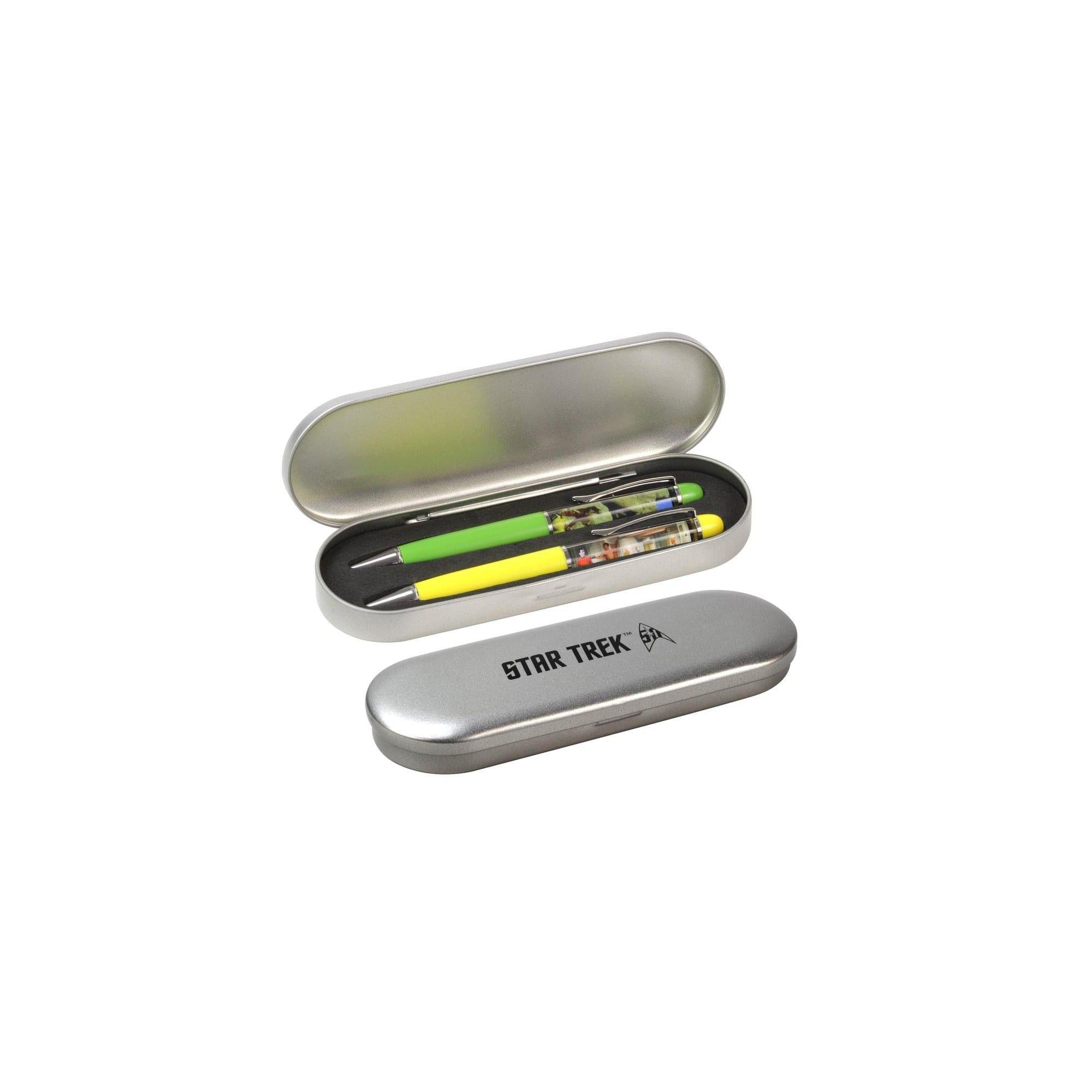 Star Trek Floating Pen Set Swashbuckling Sulu /& Kirk vs Gorn