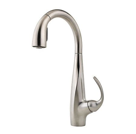 Avanti 1 Handle Pull Down Kitchen Faucet Faucet Pull Out