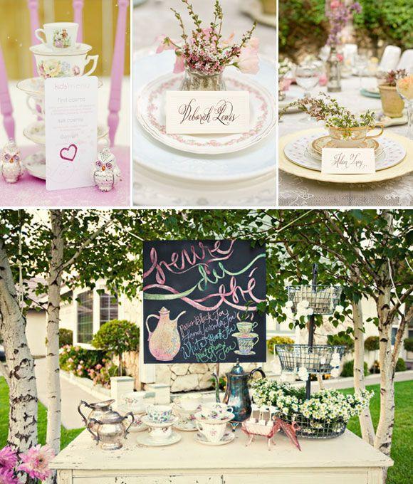 Tazas de te vintage ideas para decorar maravillosos - Decorar mesas para fiestas ...