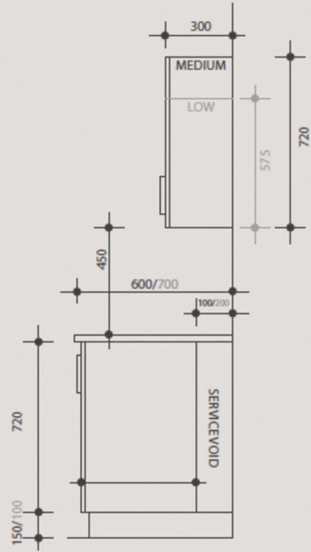 Proyecto Mueble Funcional Diseño De Mobiliario A Medida: Height Of Kitchen Cabinets