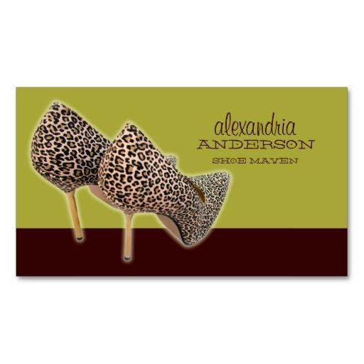 Leopard print shoes business cards leopard prints we and business this deals leopard print shoes business cards leopard print shoes business cards we reheart Images