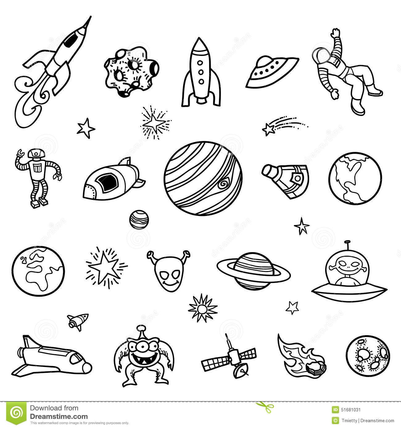 Image Result For Space Doodles