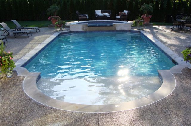 Inground Swimming Pool Designs Pool Design Ideas Luxury Swimming Pools And Spas Sterling Heights M Pool Patio Swimming Pool Designs Luxury Swimming Pools