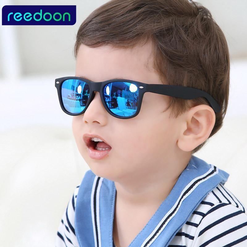 1509e51b7e6 REEDOON 2017 New Fashion Children Sunglasses Kids Boy Girl Sun Glasses  Plastic Frame 8 Colors Cute Cool Goggles UV400. Yesterday s price  US   22.47 (19.62 ...