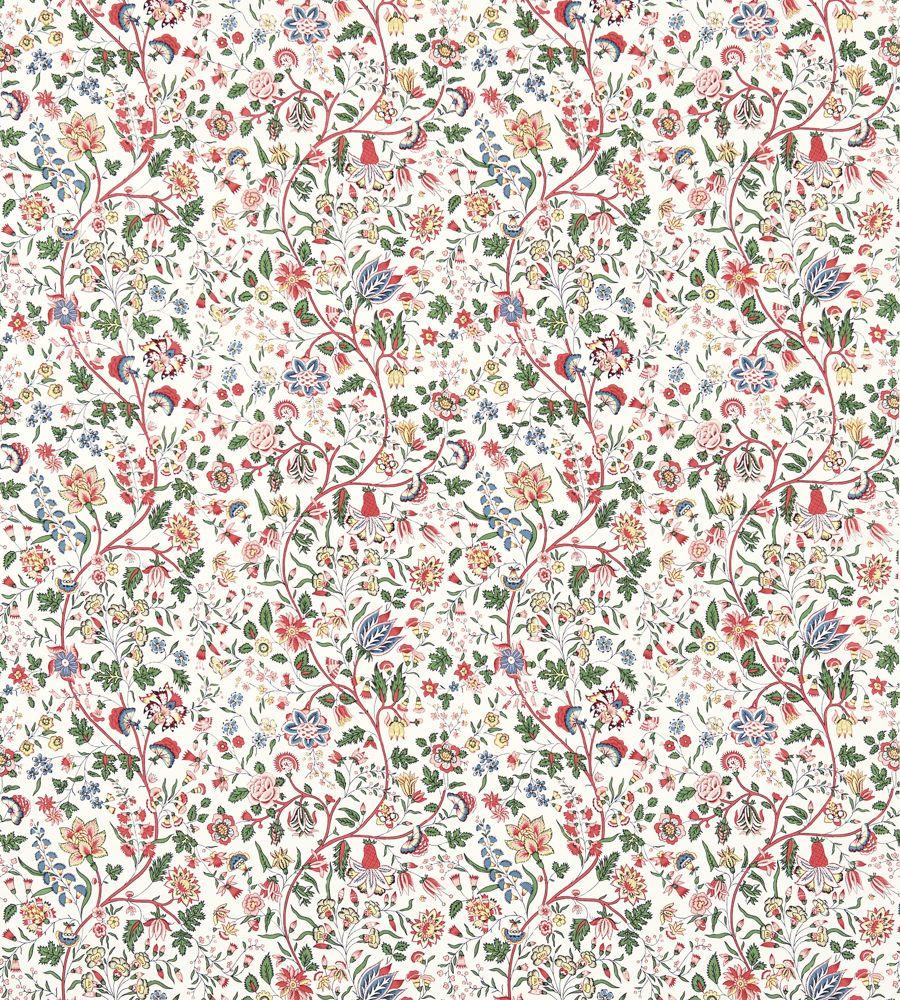 Sanderson Sita Chintz Fabric - 224313 - Vintage Prints 2 Collection