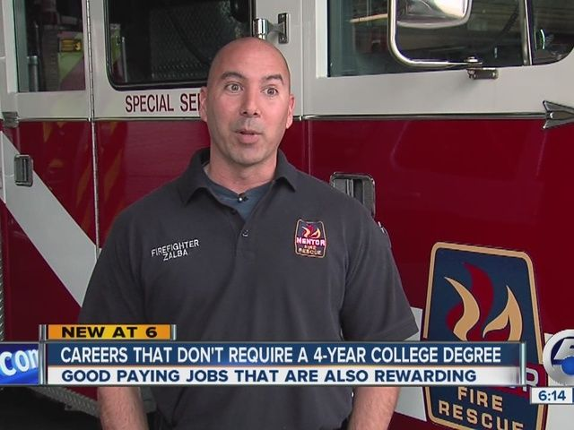 Great paying jobs that don't require a 4 year degree