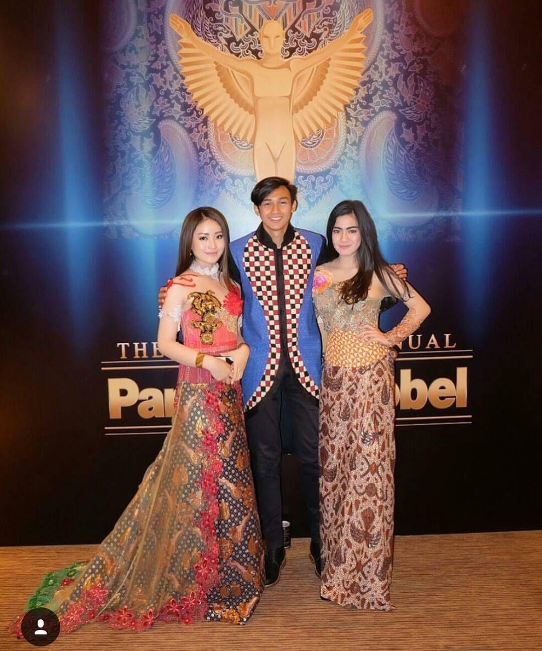 baju couple muslim brokat kombinasi embos 12 model batik modern