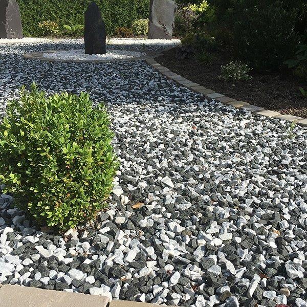 Black Ice Gravel Bog Garden Garden Landscape Design Gravel Garden