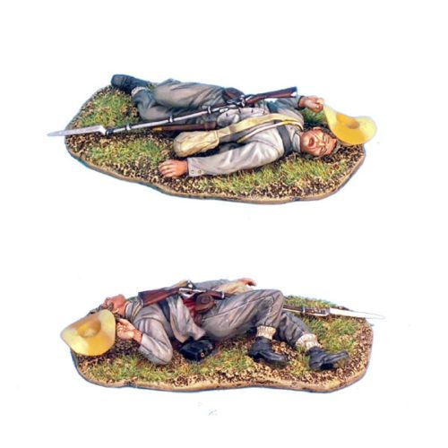MB015 ACW Confederate Infantry Advancing by First Legion