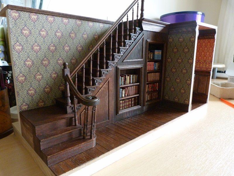 Staircase Ideas Library Doll House Dollhouse