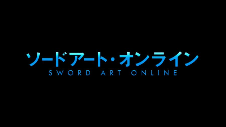The Famous Sword Art Online Logo Of The Manga And Anime Sword Art